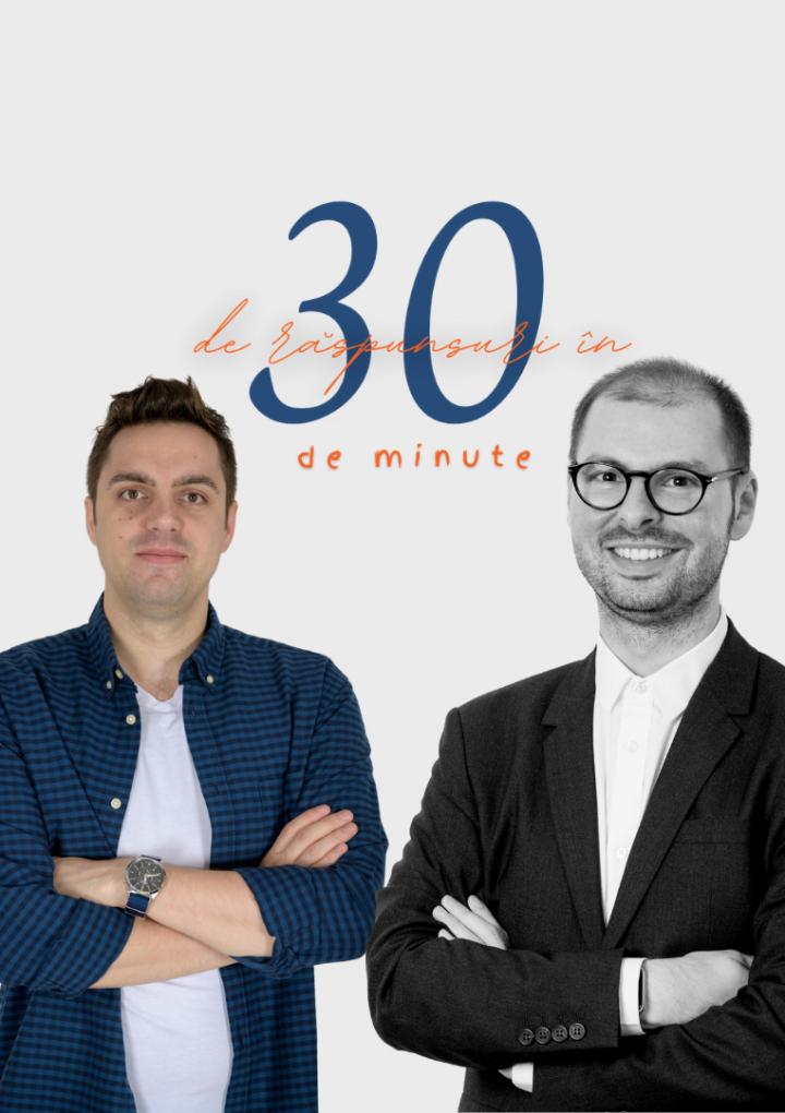 30 de răspunsuri în 30 de minute cu Andrei Ionel Mocanu & Dr. Bogdan Fițiu live pe 27 mai